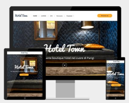 Sito web per alberghi e hotel
