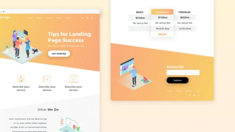Come creare landing page di successo