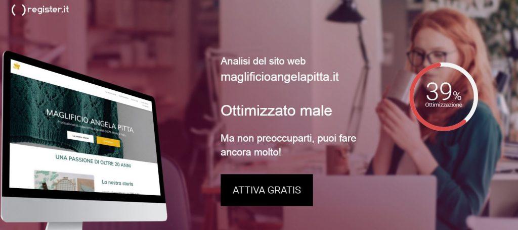 Analizza gratis il tuo sito web