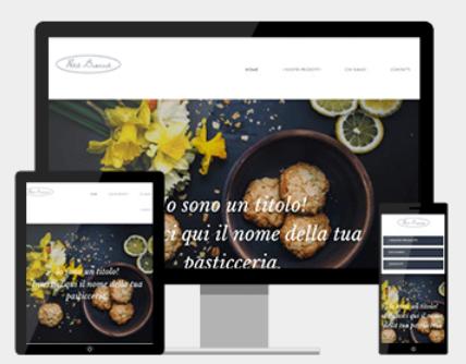 Sito web sul cibo e di ricette