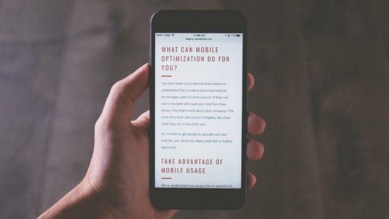 Simply Site e l'importanza di avere un sito web mobile
