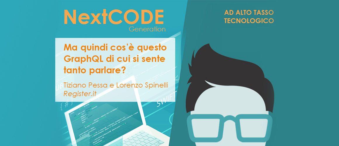 Register.it al NextCODE Generation con un talk su GraphQL